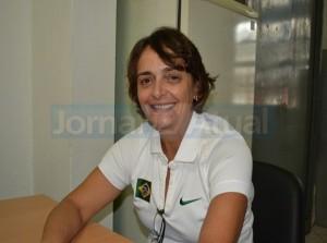 Márcia Campeão apresenta o programa Segundo Tempo que iniciará neste ano na UFRuralRJ – FOTO NATÁLIA FIGUEIREDO