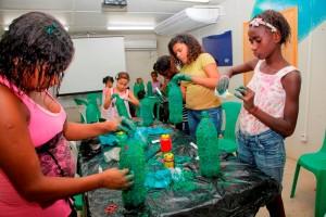 Sustentabilidade na CTR Seropédica. Foto: Divulgação