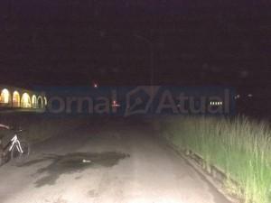 VÁRIOS TRECHOS da UFRuralRJ estão sem iluminação expondo estudantes, professores e funcionários a tentativas de assaltos. (FOTO BRUNA RODRIGUES)