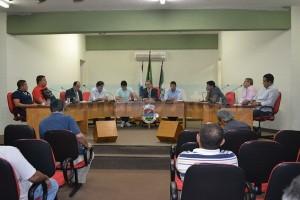 Na Câmara Municipal de Seropédica parlamentares votaram por esclarecimentos das secretarias. (FOTO NATÁLIA FIGUEIREDO)