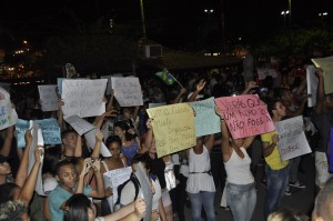 Manifestação Pacifica em Seropédica