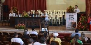 O EVENTO contou com a participação de representantes de grupos extensionistas de defesa dos animais, sociedade civil e docentes da UFRuralRJ (FOTO NATÁLIA FIGUEIREDO)