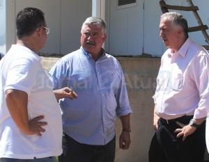 Martinazzo se reúne com representantes da empresa Autonomy na área da UPA (DIVULGAÇÃO)