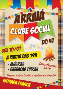 Arraiá do Clube Social