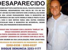 Taxista da mesma cooperativa que os mortos por bandidos no Chapadão, Wagner sumiu após fazer corrida com criminosos do complexo